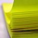 Yellow Post Its by libraryman