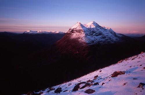 winter mountain film 35mm walking geotagged scotland torridon geotoolgmif liathac geolat57580347 geolon5423512 scottishwinterclimbing