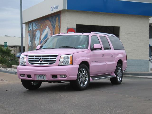 Pink Cadillac Car Hire Las Vegas