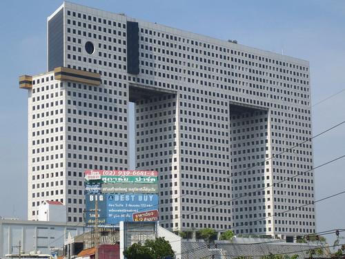 Elephant building bangkok thailand