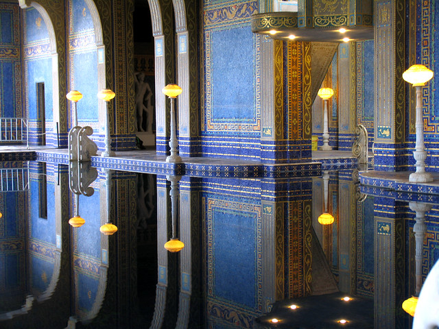 The Indoor Pool at Hearst Castle