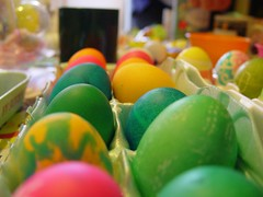 yellow, green, food, easter egg, easter,