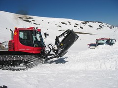 winter, vehicle, piste, snow, snow removal,