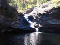 Waterfall into Lula Lake