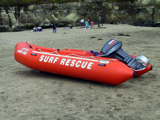 Irb inflatable rescue boat quot santa cruz flickr photo