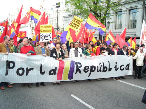 Republikanische Demonstration in Madrid. Foto: Manatí entre Orillas / Flickr