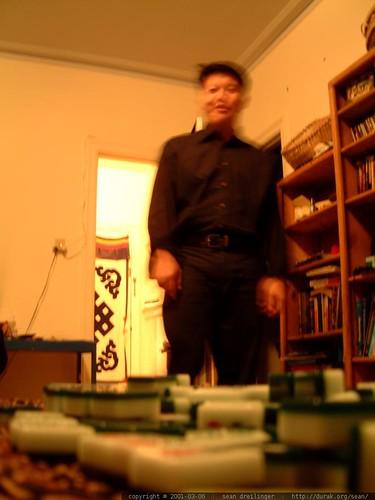 eddie, mahjong, 2001-03-06, parnassus ave dscf2077