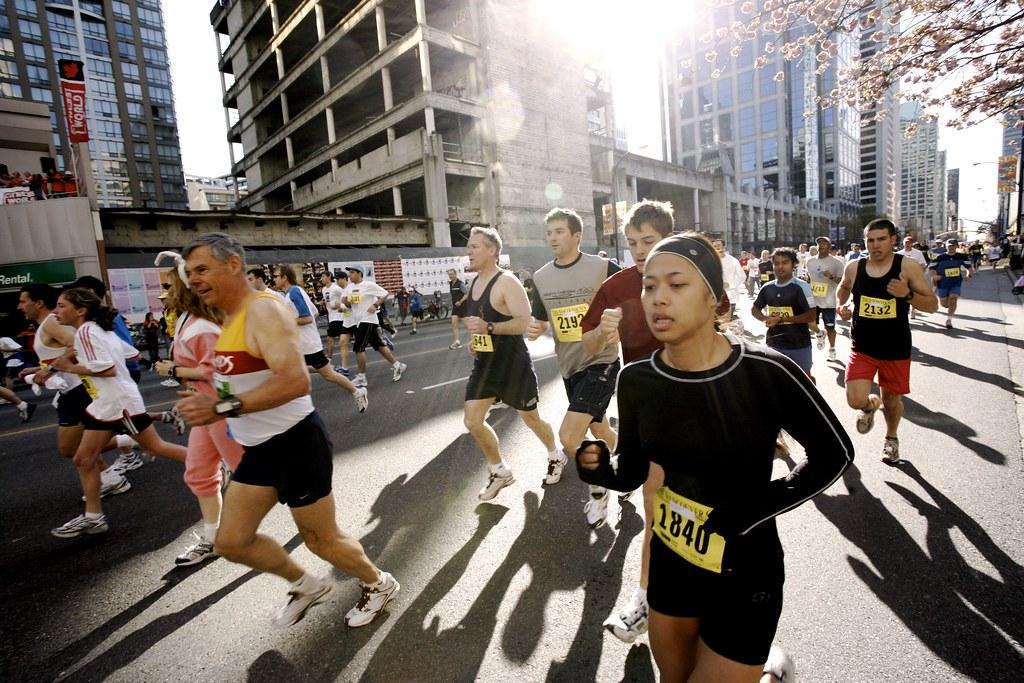 Vancouver Sun Run 2006