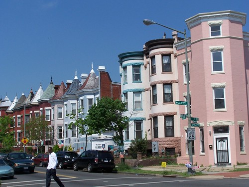 Rowhouses in Bloomingdale