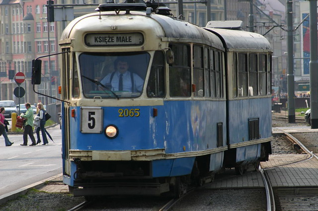 Wroclaw tram...April 2006
