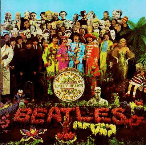 Image result for Sgt. Pepper's Lonely Hearts Club Band / The Beatles