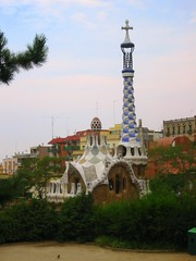 Houses at Park Guell