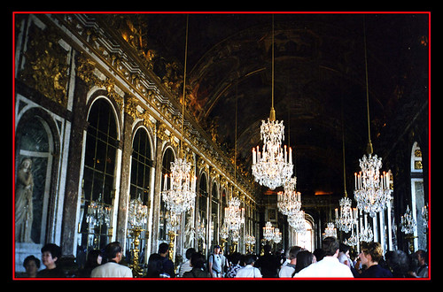 La Galerie des Glaces (The Hall of Mirrors) - Versailles, France
