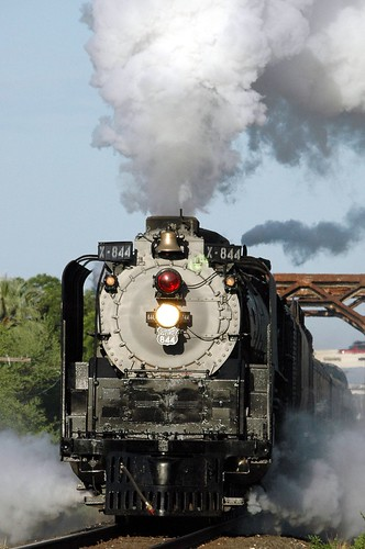 Steam Locomotive No. 844 - Del Rio, TX