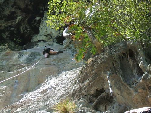 thailand, railay, rock climbing, i-wei DSCF0371