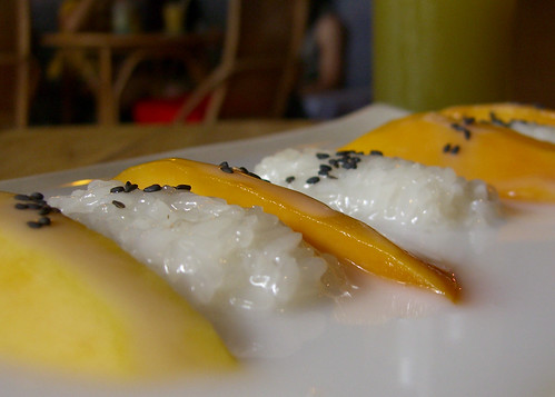 Hanoi - Tamarind Cafe - Mango Sticky Rice