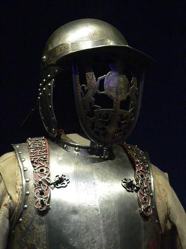 キングジェームス2世の鎧