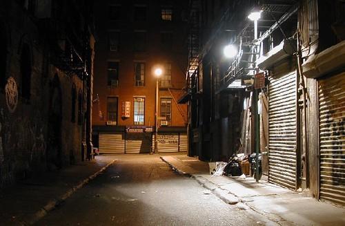 Location Scout Alley New York City Sam Rohn