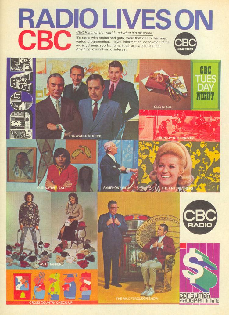 Vintage Ad #35 - Radio Lives On