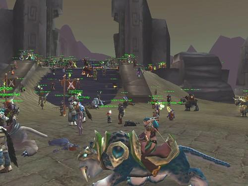 World of Warcraft AQ World Event