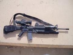 assault rifle(1.0), trigger(1.0), weapon(1.0), shotgun(1.0), rifle(1.0), machine gun(1.0), firearm(1.0), gun(1.0), gun barrel(1.0),