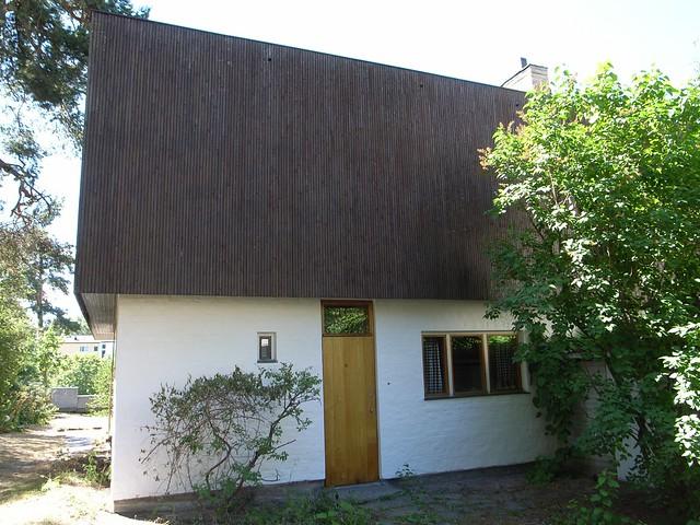 Puerta de la casa de Aalto