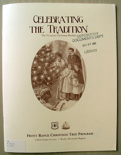 Celebrating the Tradition : the Victorian Christmas booklet