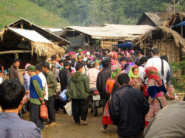 Coc Ly Market in Sapa Vietnam