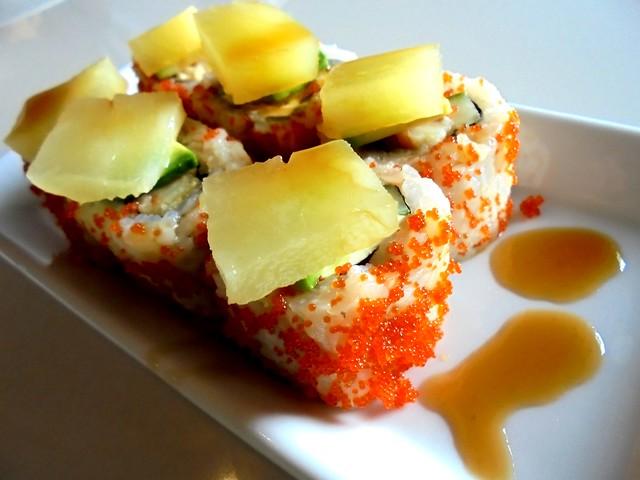 Zen summer sushi roll