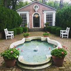 The Pink Pavilion.... brings back lots of wedding memories  #winchesterva #summer