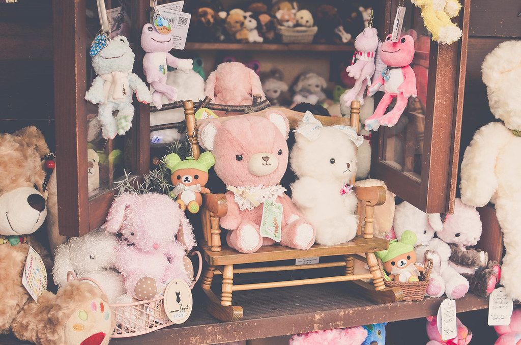 Kawaii stuffed toys