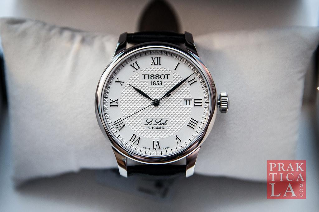 Review Tissot Le Locle Swiss Automatic Watch Prakticala