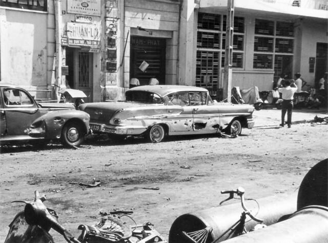 SAIGON 1965 - U.S. EMBASSY EXPLOSION - Vụ đánh bom Tòa Đại sứ Mỹ ngày 30/3/1965