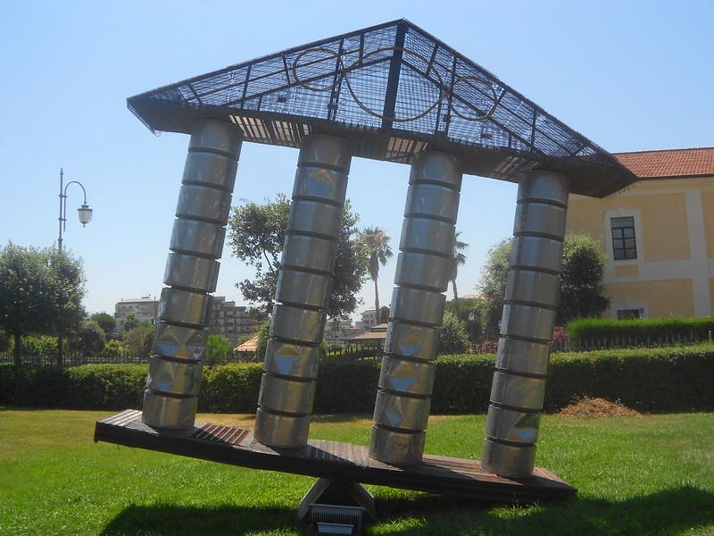Michelangelo Pistoletto, I templi cambiano, Terzo paradiso, Parco Internazionale della Scultura, Catanzaro