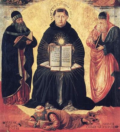 """Giáo Huấn Đức Giáo Hoàng Benedict XVI Về """"Con Người Và Tư Tưởng Của Thánh Tôma Aquinô"""""""
