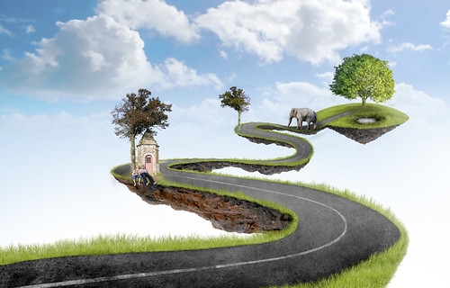 road travel sky italy plant tree green nature ecology field grass illustration clouds garden way landscape island heaven alone peace path meadow surreal ground away clear route fantasy silence imagination concept suspended brescia isolated skyland tranquillity