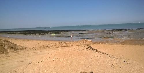 Sand, sky sea, jet ski...