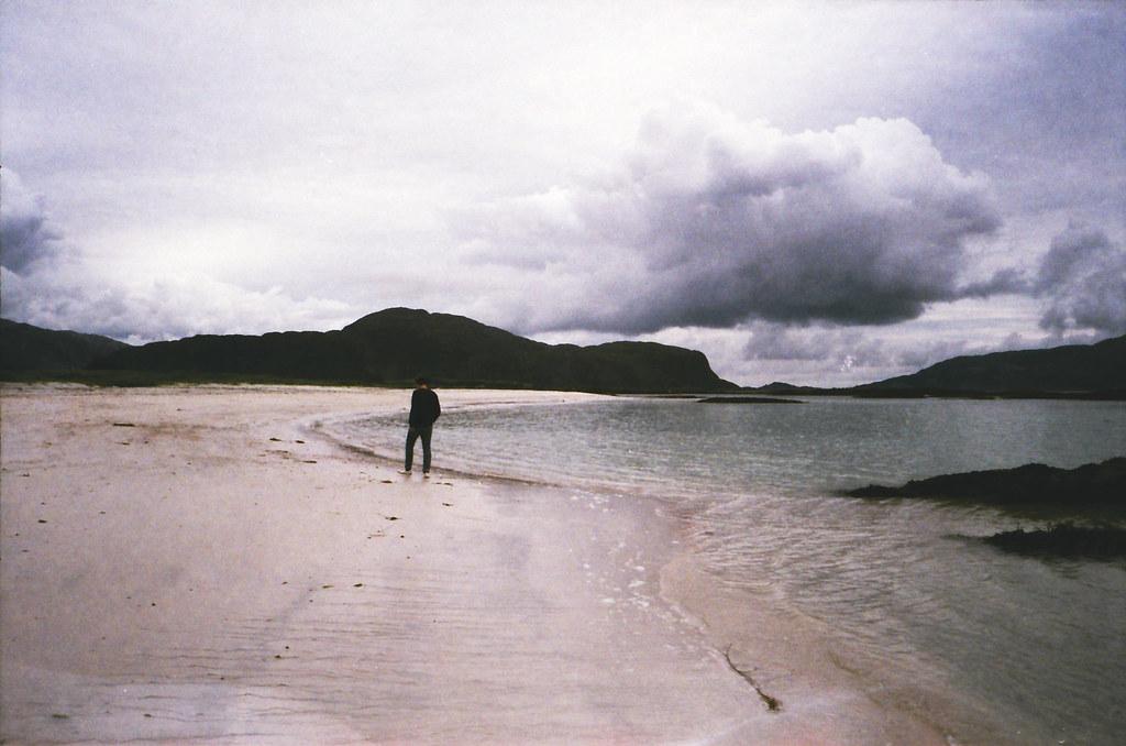 ved havet.