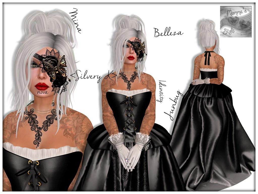 Belleza Skin, Maxi Gossamer, MG, Buzz, Buzzeri, Kustom9, Kustom 9, K9, Mandala, Belleza, Freya, Slink, Amacci, Mina, The Gacha Garden, Arise, nova, Identity, Suicide Dollz, Junbug,  Silvery K, Exposeur, Momma's Style, JenJen Sommerfleck, Second Life, Virtual World, Avatar, Virtual Photography, Digital Art