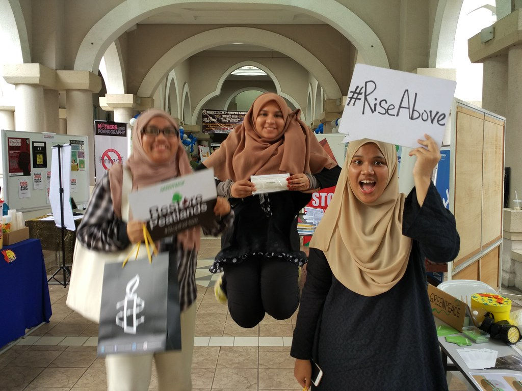 #RiseAbove climate injustice in Malaysia