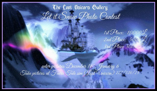 Enter the Let it Snow Photo Contest by This Friday!