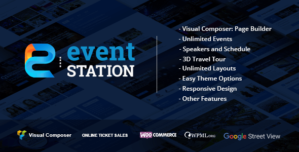 Event Station v1.1.2 - Event & Conference WordPress Theme