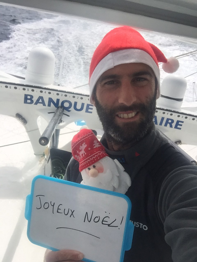 Jour 48 : Images du bord Armel Le Cléac'h - Vendée Globe 2016