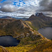 Cradle Mountain and lakes by Bjorn Baklien