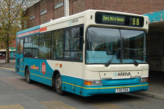 Arriva Dennis Dart 872 Y32TDA - Crewe