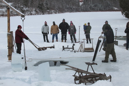 Ice Sawing demo