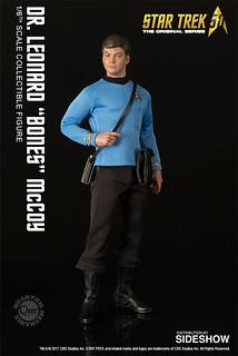 "Quantum Mechanix 星際爭霸戰【老骨頭:李奧納德.麥考伊醫官】Dr. Leonard ""Bones"" McCoy 1/6 比例人偶作品"
