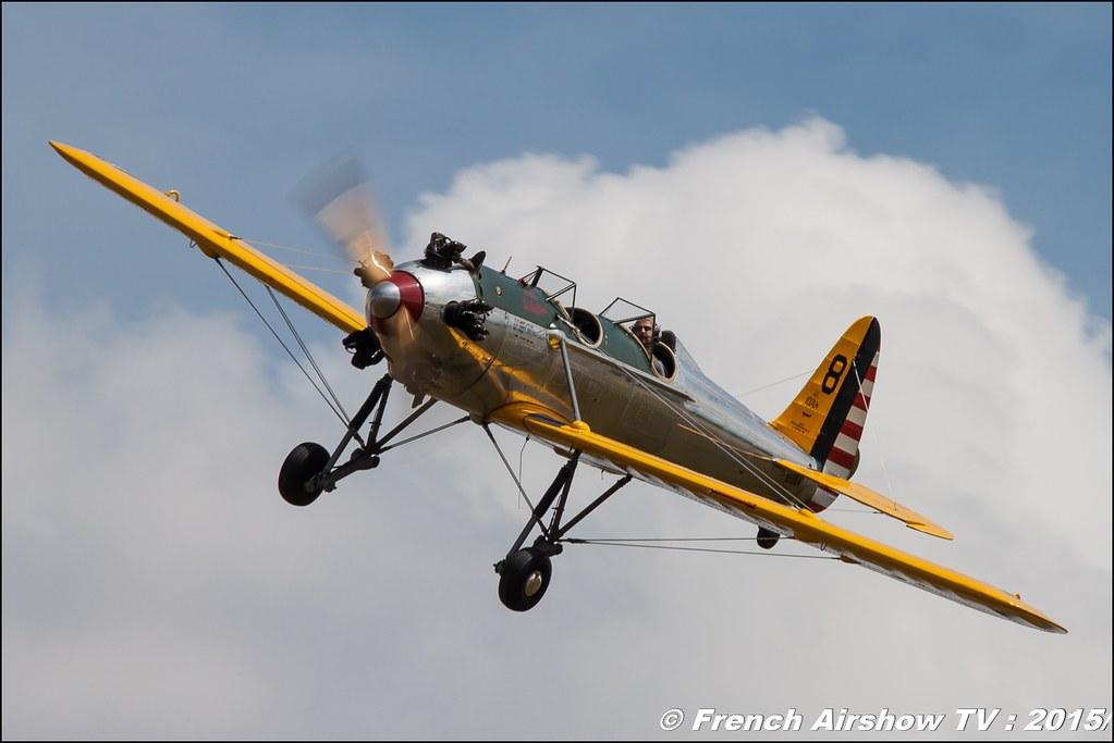 Patrouille de RYAN PT 22,Arnaud Kervela et Thierry Paris , Fly in LFBK 2015 - Fly in Saint Yan 2015, Meeting Aerien 2015