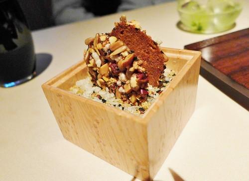 Manresa granola crisp