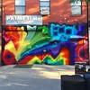 Vagabonddom @ Welling Court #wellingcourt @wellingcourtmuralproject @vagabonddom #graffiti #streetart #murals #ny #nyc #astoria #queens #rainbow #colors